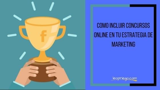 concursos online en redes sociales