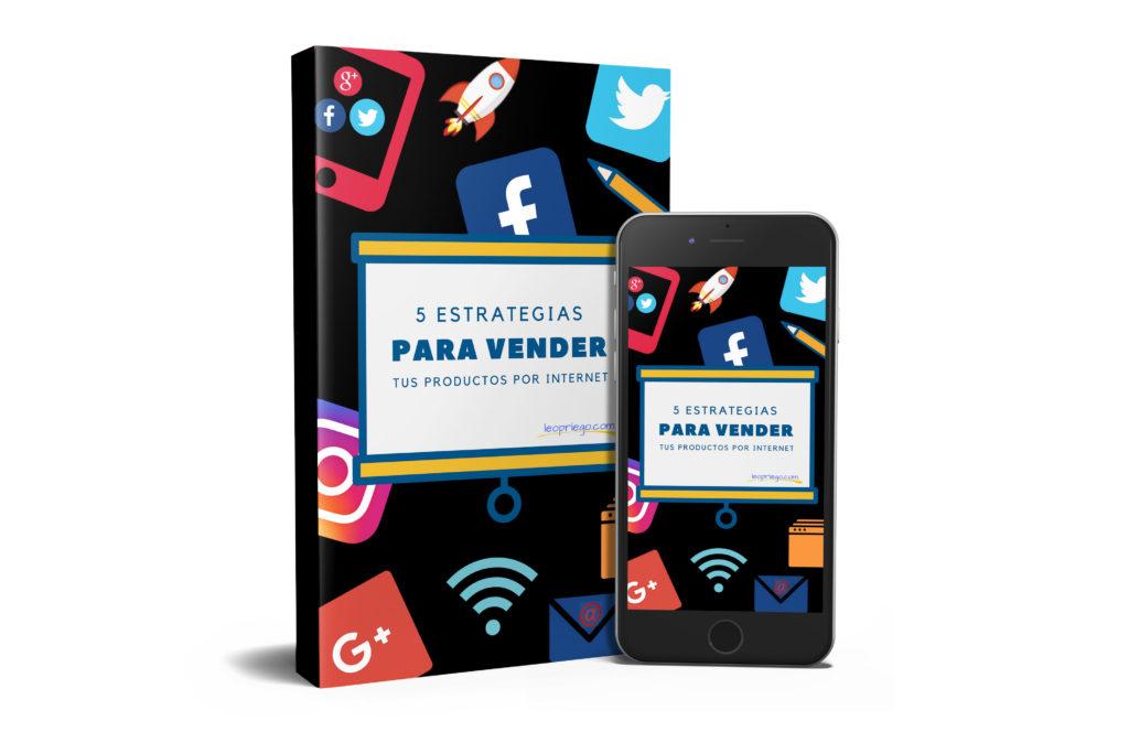 ebook 5 estrategias para vender por internet