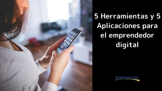 herramientas y aplicaciones para el emprendedor digital